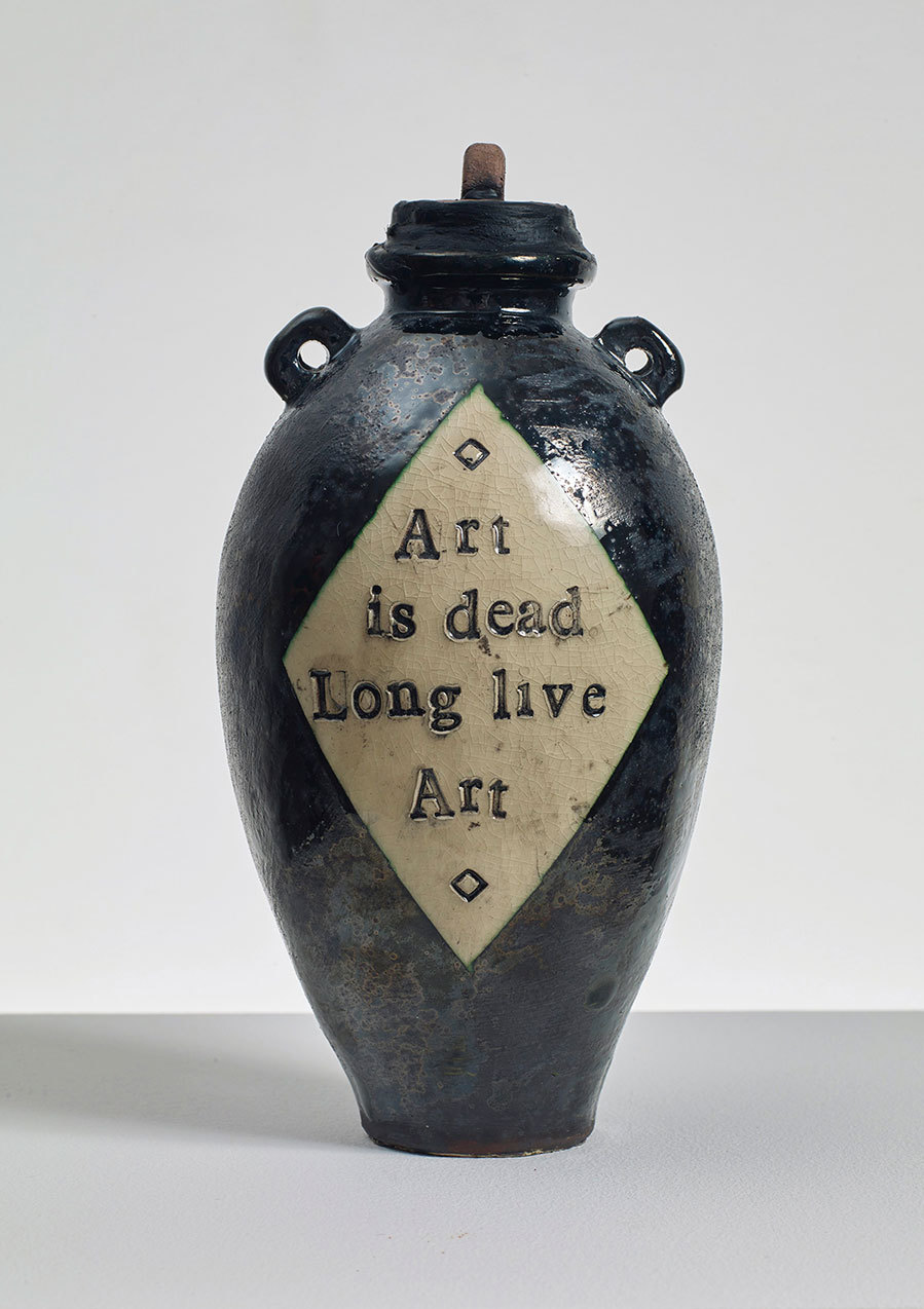 Grayson Perry: 'Art is dead Long live Art'.