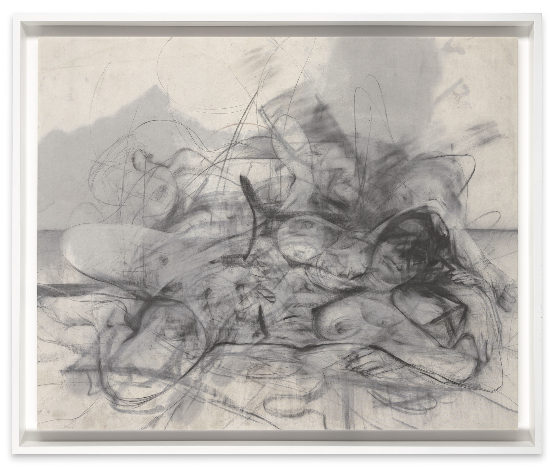 Jenny Saville: 'Ashes'.